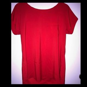 7th Avenue Red blouse